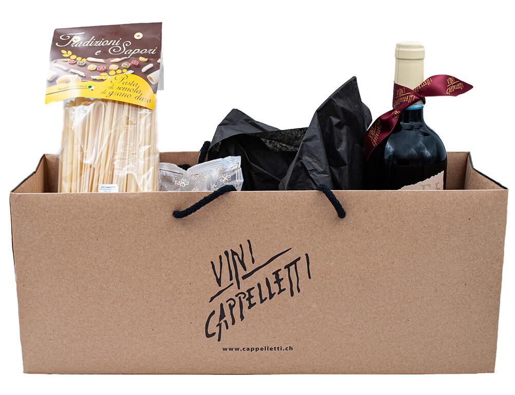 Klein und fein verpackt mit feinsten italienischen Produkten