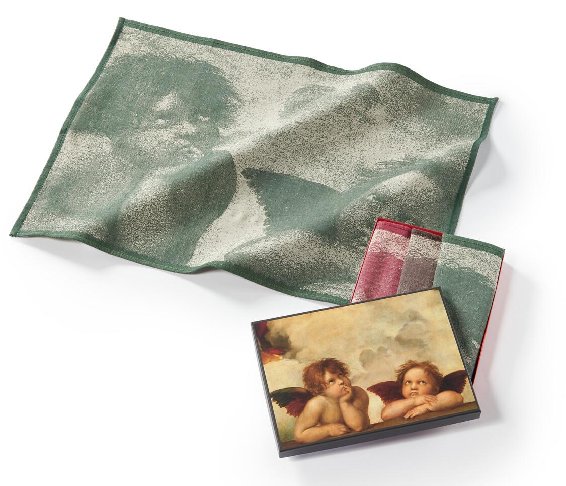 Geschirrtücher Raphael - Die Engel der Sixtina - 3er Pack
