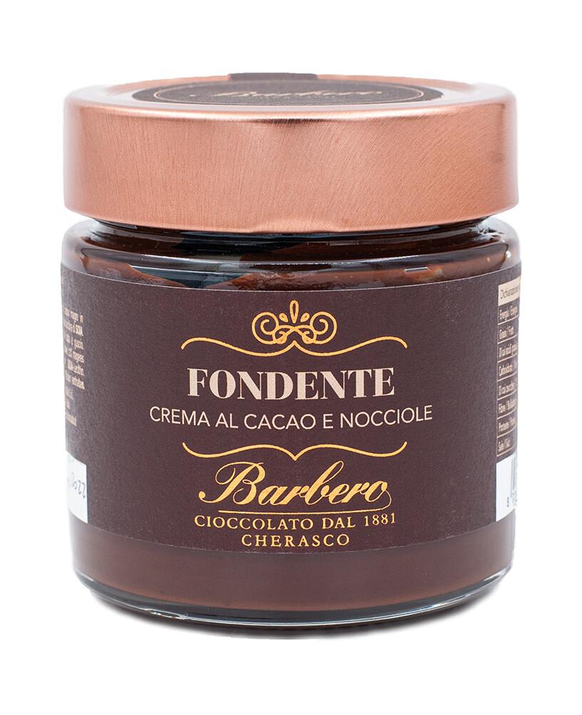 Streichzarte Haselnusscreme mit dunklem Kakao und 48% Haselnüssen
