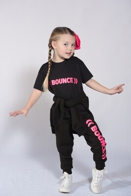 Kids T-Shirt - Black & Pink