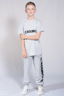 Kids T-Shirt - Grey & Black