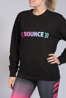 Sweatshirt - Black & Rainbow