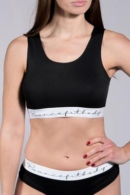 Underwear Set, Ladies - Black & White