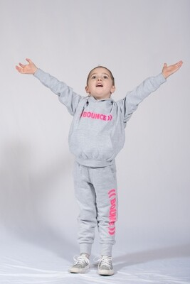 Baby Joggers - Grey & Pink