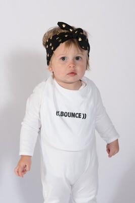 Baby Bib - White