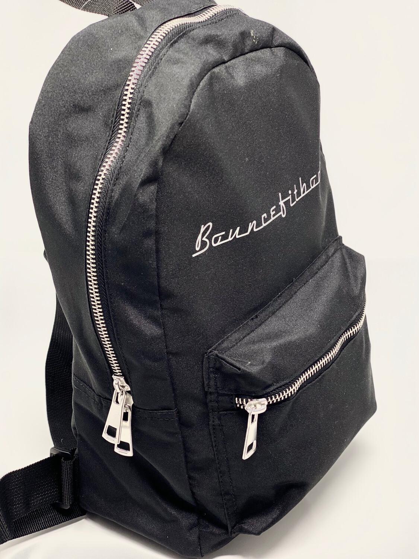 Backpack - Black & Silver