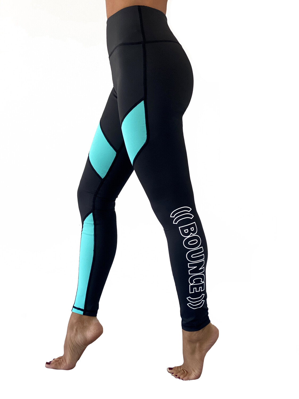 Leggings - Block: Turquoise