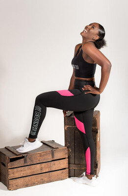 Leggings - Block: Pink