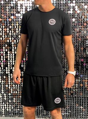 Men's Sports Shorts, Unity - Black