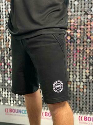 Men's Jogging Shorts, Unity - Black & White