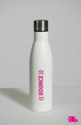 Copper Vacuum Insulation Drink Bottle - White