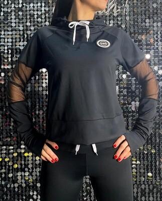 Hoodie, Recycled - Black