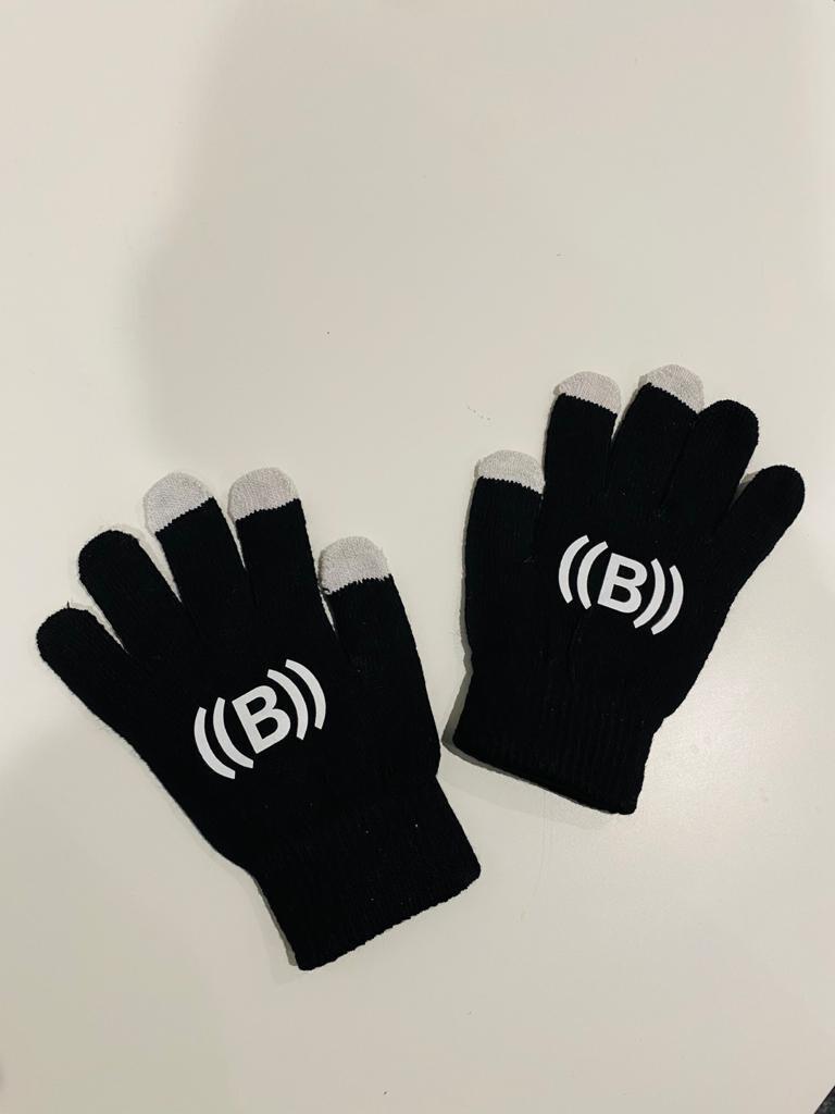 Gloves - Black & White