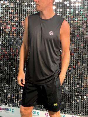 ((B))asics: Sports Vest, Unisex - Black