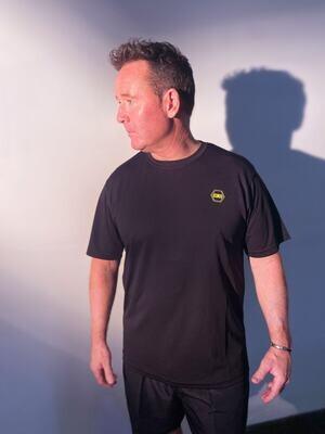 ((B))asics: T-Shirt, Unisex - Black