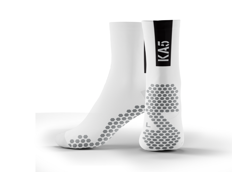 KA5 Traction + Performance Socks - White