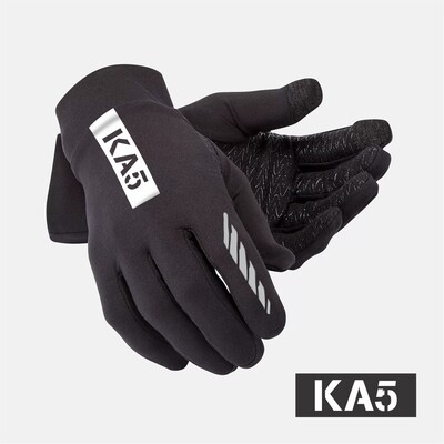KA5 Traction Running Gloves -  Black