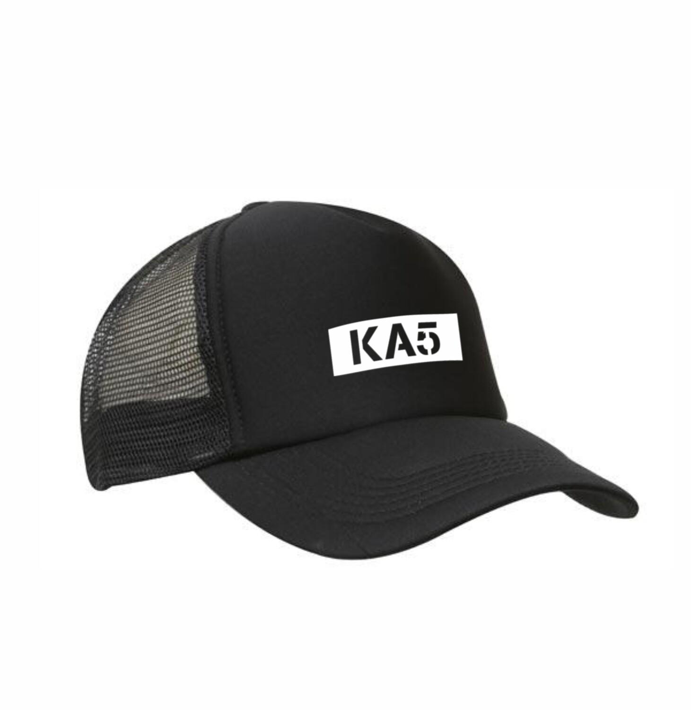 KA5 Black Truckers Caps