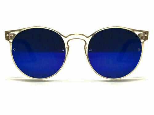 NEW SPITFIRE® SUNGLASSES POST PUNK - Clear/Blue Mirror