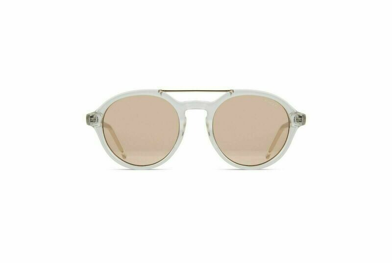 NEW KOMONO SUNGLASSES HARPER - Crystal/Smoke
