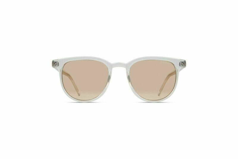 NEW KOMONO SUNGLASSES FRANCIS - Crystal/Marine Blue lens