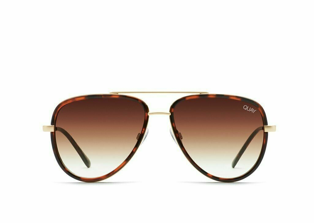 NEW QUAY AVIATOR ALL IN MINI TORT/BRWN FADE SUNGLASSES SUITS SMALL FACES