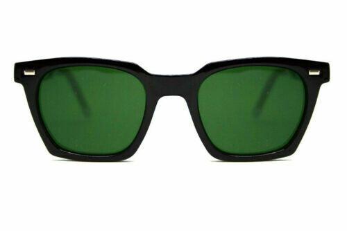 SPITFIRE® UK BC2 Designer Sunglasses   Black Frame Green Lens