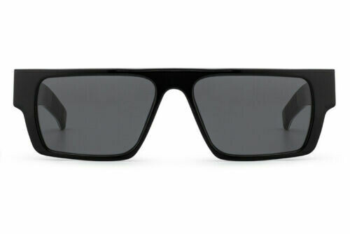 NEW SPITFIRE CUT SIX - BLACK/ BLACK SOLID ACETATE FRAME