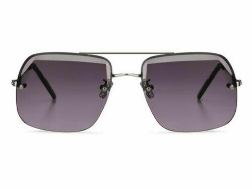 NEW SPITFIRE SUNGLASSES 70's Style CARLITO - Silver/Black Grad