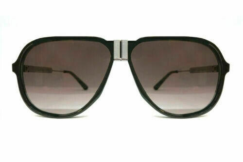 NEW SPITFIRE SUNGLASSES DPE - Black/Silver Mens 70's Style