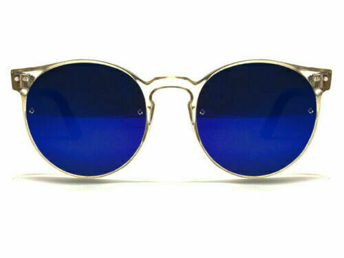 NEW SPITFIRE SUNGLASSES POST PUNK - Clear/Blue Mirror