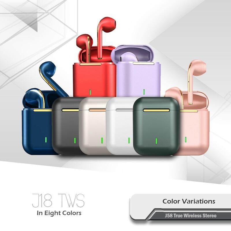 J18 Earbuds Wireless Headphones TWS Earphone & Headphone Wireless TWS Earbuds