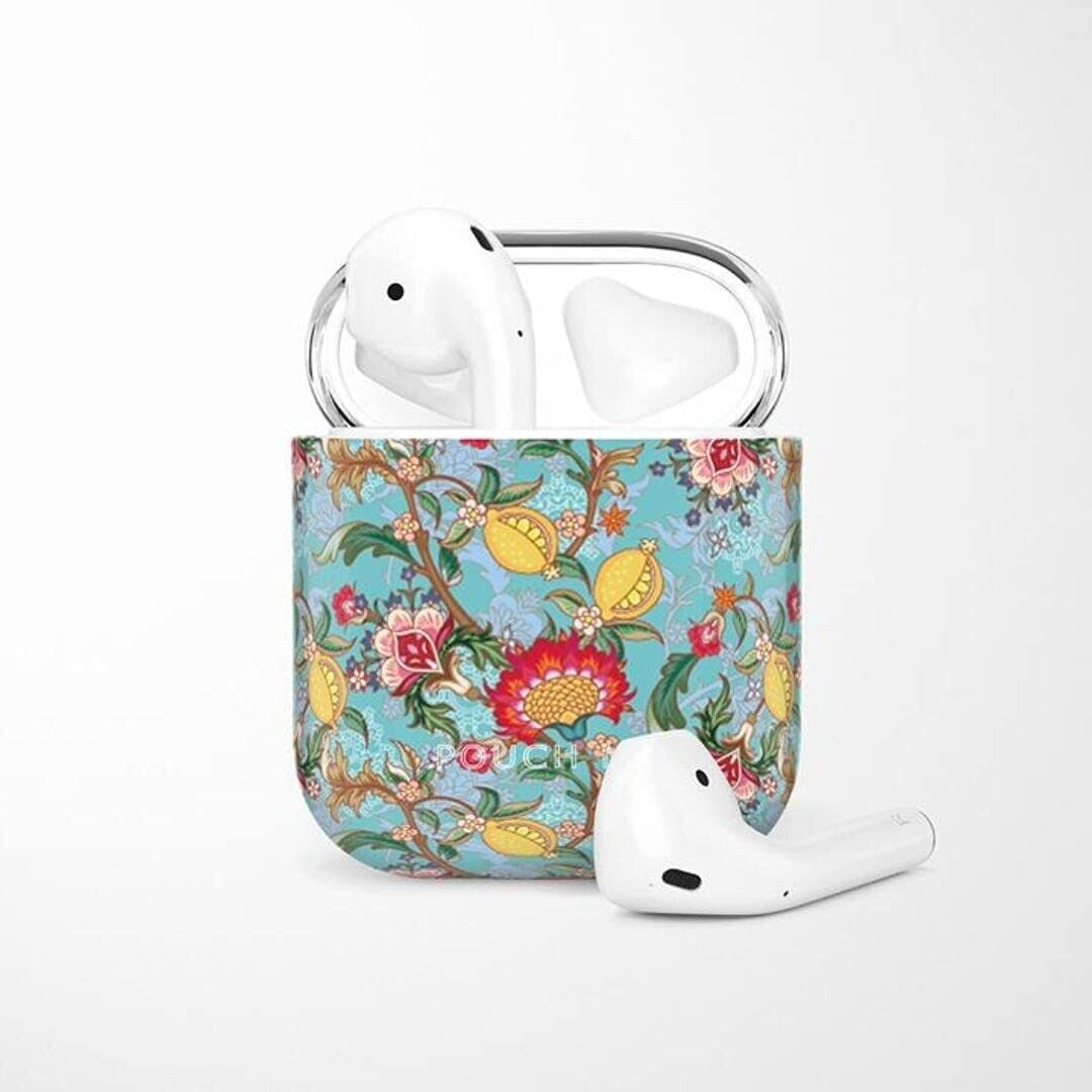 POUCH ME® Case Cover For Airpods 1 2 Finder Series Lemon Splash