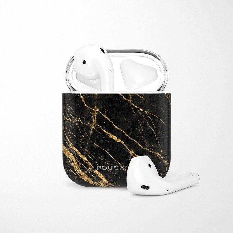 POUCH ME® Case Cover For Airpods 1 2 Finder Series Black Light