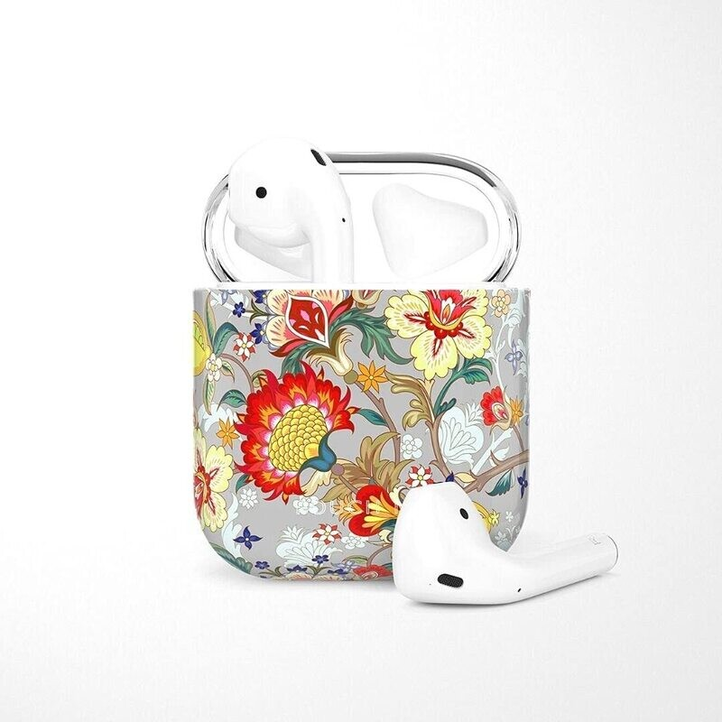 POUCH ME® Case Cover For Airpods 1 2 Finder Series Solo Lemon