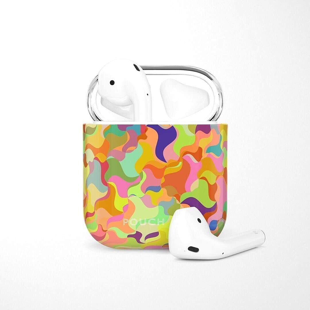 POUCH ME® Case Cover For Airpods 1 2 Finder Series Colorflauge