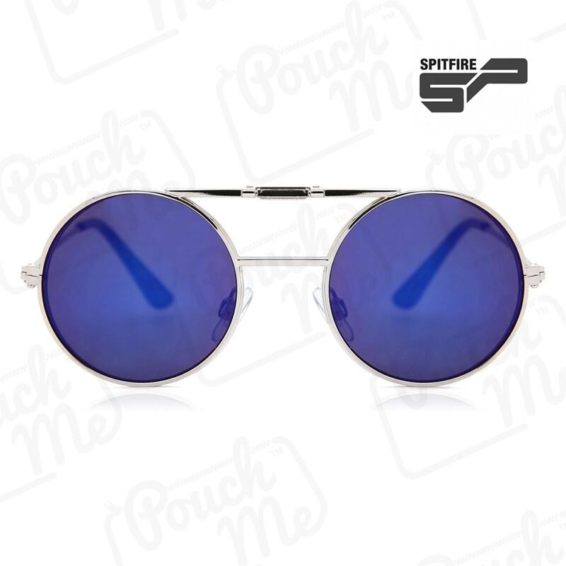 SPITFIRE® UK LENNON FLIP Designer Sunglasses - Blue