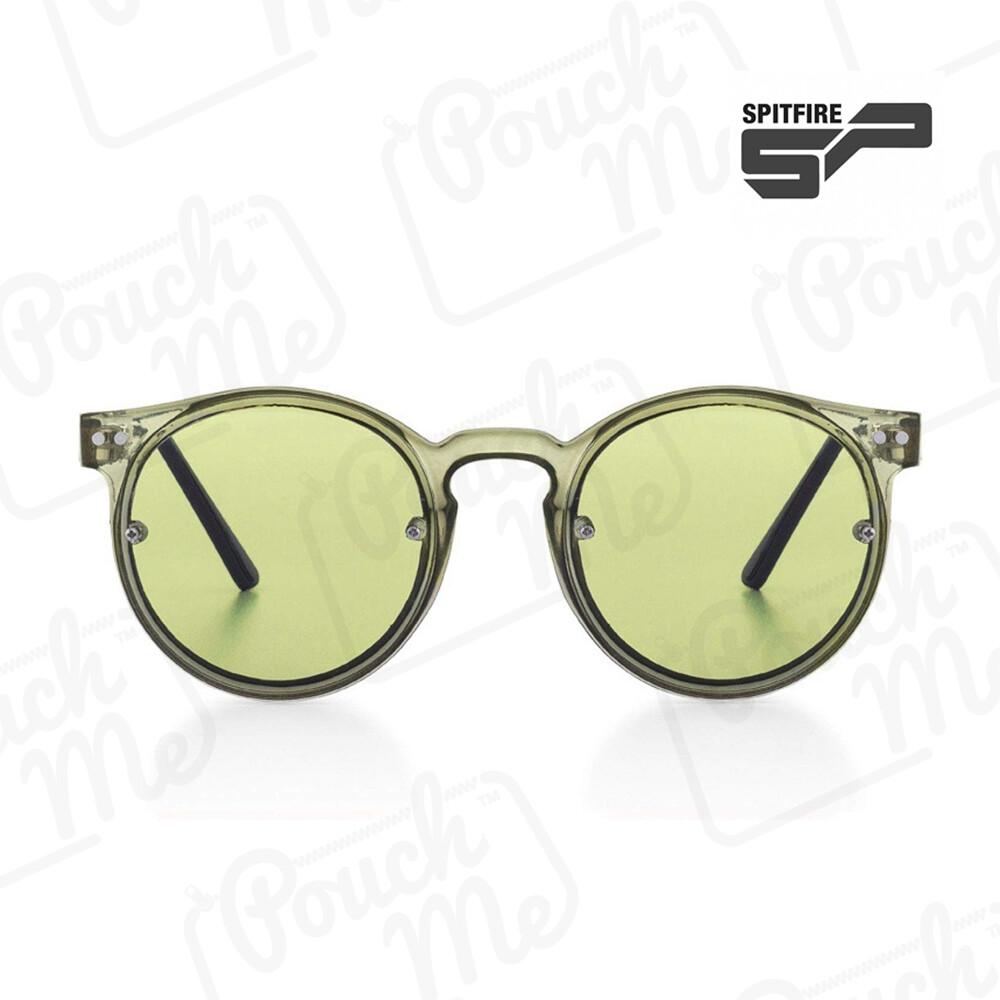 NEW SPITFIRE® SUNGLASSES POST PUNK - Olivie/Olivie Green