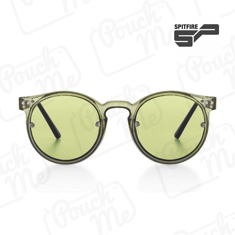 SPITFIRE® UK POST PUNK Designer Sunglasses   Olive Green