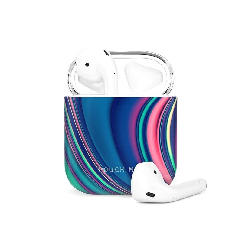 POUCH ME® Case Cover For Airpods 1 2 Finder Series Pastel River