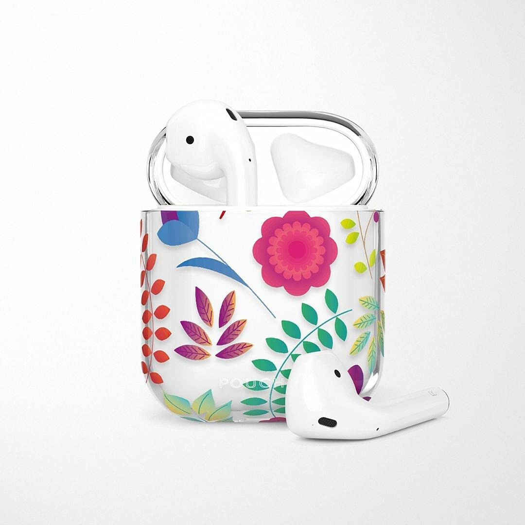 POUCH ME® Case Cover For Airpods 1 2 Finder Series Harlequin