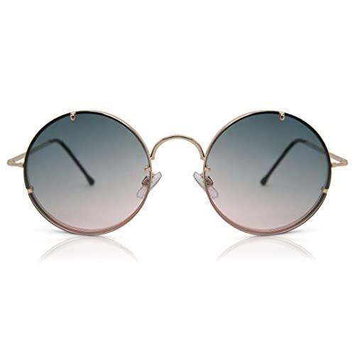 SPITFIRE® UK POOLSIDE Designer Sunglasses | Pink Green Gradient