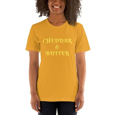 CHEDDAR & BUTTER Short-Sleeve Unisex T-Shirt