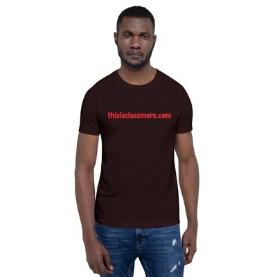 thisisclassmore.com Short-Sleeve Unisex T-Shirt