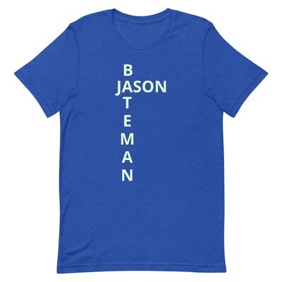 JASON BATEMAN Short-Sleeve Unisex T-Shirt