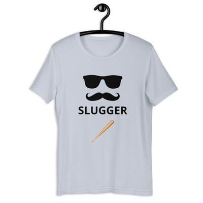 SLUGGER- Short-Sleeve Unisex T-Shirt
