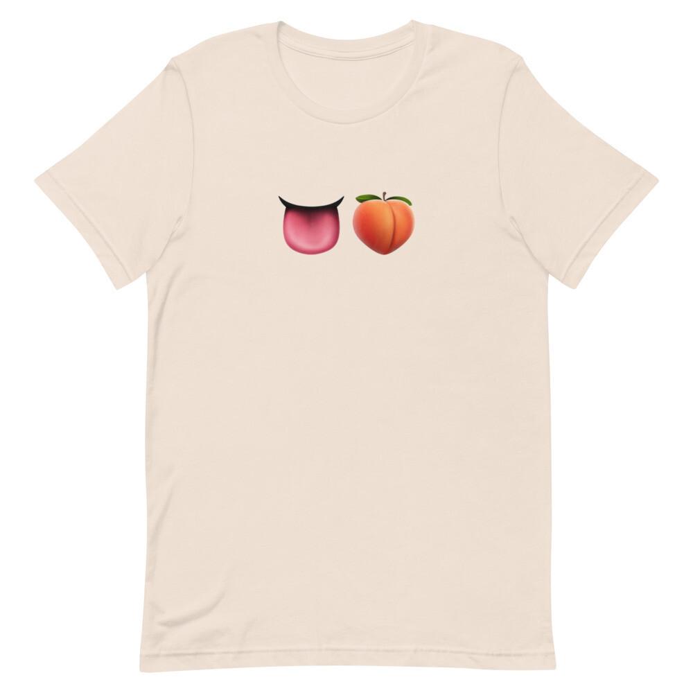 CHOW ASS EMOJI Short-Sleeve Unisex T-Shirt