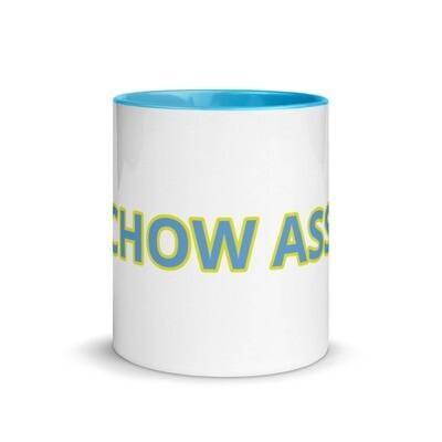 CHOW ASS Mug with Color Inside