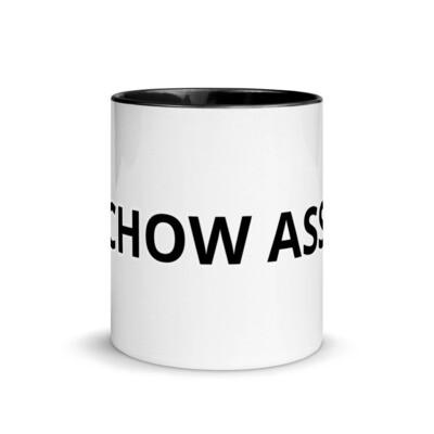 CHOW ASS Mug with Black Color Inside