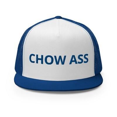CHOW ASS Trucker Cap (Blue)